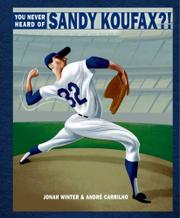 Cover art for YOU NEVER HEARD OF SANDY KOUFAX?!