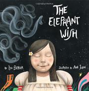 Cover art for THE ELEPHANT WISH