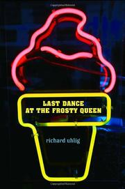 Cover art for LAST DANCE AT THE FROSTY QUEEN