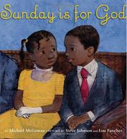 Book Cover for SUNDAY IS FOR GOD