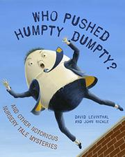 Book Cover for WHO PUSHED HUMPTY DUMPTY?