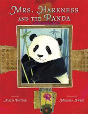 Book Cover for MRS. HARKNESS AND THE PANDA