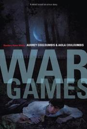 Book Cover for WAR GAMES