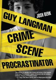 Book Cover for GUY LANGMAN: CRIME SCENE PROCRASTINATOR