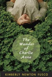 Book Cover for THE WONDER OF CHARLIE ANNE