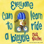 Cover art for EVERYONE CAN LEARN TO RIDE A BICYCLE