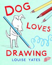 Cover art for DOG LOVES DRAWING
