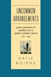 Cover art for UNCOMMON ARRANGEMENTS