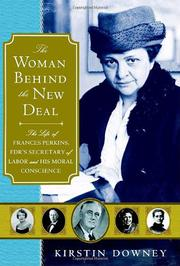 Cover art for THE WOMAN BEHIND THE NEW DEAL