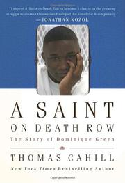 Book Cover for A SAINT ON DEATH ROW