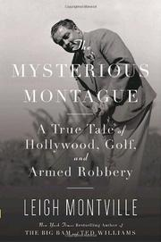 Cover art for THE MYSTERIOUS MONTAGUE