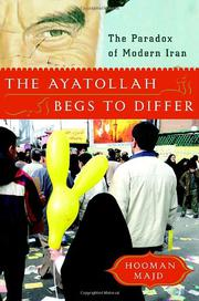 Book Cover for THE AYATOLLAH BEGS TO DIFFER