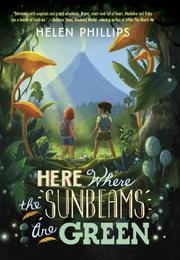 Book Cover for HERE WHERE THE SUNBEAMS ARE GREEN