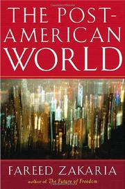 Cover art for THE POST-AMERICAN WORLD