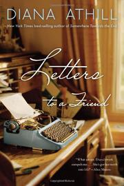 Book Cover for LETTERS TO A FRIEND
