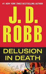 Cover art for DELUSION IN DEATH