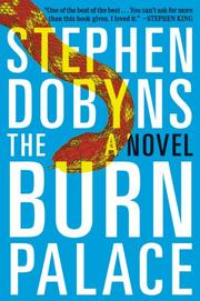 Cover art for THE BURN PALACE