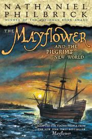 Cover art for THE MAYFLOWER AND THE PILGRIMS' NEW WORLD
