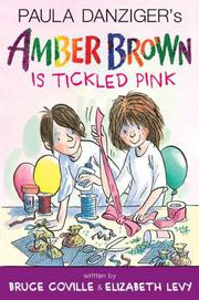 Book Cover for AMBER BROWN IS TICKLED PINK