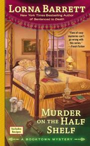 Cover art for MURDER ON THE HALF SHELF