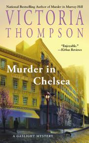 Cover art for MURDER IN CHELSEA