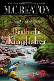 Cover art for DEATH OF A KINGFISHER