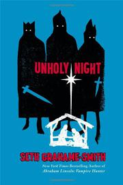 Cover art for UNHOLY NIGHT