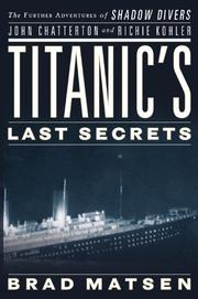 Cover art for TITANIC'S LAST SECRETS