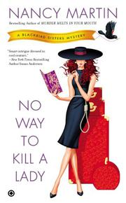 Cover art for NO WAY TO KILL A LADY