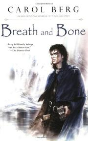 Book Cover for BREATH AND BONE