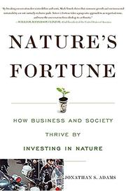 Cover art for NATURE'S FORTUNE