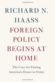 Book Cover for FOREIGN POLICY BEGINS AT HOME