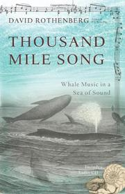 Cover art for THOUSAND MILE SONG