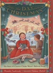 Book Cover for 'TWAS THE DAY BEFORE CHRISTMAS