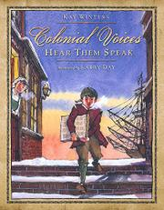 Book Cover for COLONIAL VOICES