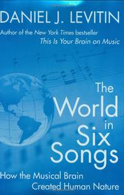 Cover art for THE WORLD IN SIX SONGS