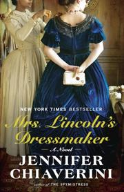 Book Cover for MRS. LINCOLN'S DRESSMAKER