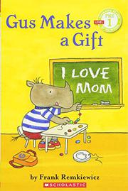 Book Cover for GUS MAKES A GIFT