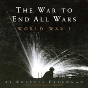 Book Cover for THE WAR TO END ALL WARS