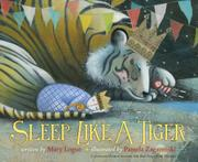 Cover art for SLEEP LIKE A TIGER