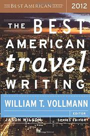 Cover art for THE BEST AMERICAN TRAVEL WRITING 2012