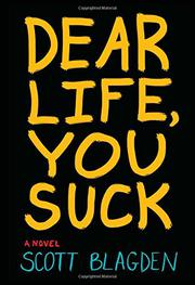 Book Cover for DEAR LIFE, YOU SUCK