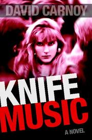 Book Cover for KNIFE MUSIC