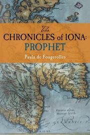 Book Cover for THE CHRONICLES OF IONA: PROPHET