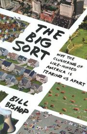 Cover art for THE BIG SORT