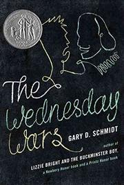 Cover art for THE WEDNESDAY WARS