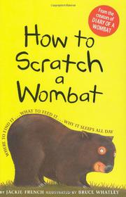 Cover art for HOW TO SCRATCH A WOMBAT