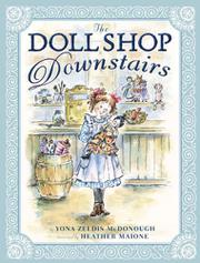 Book Cover for THE DOLL SHOP DOWNSTAIRS
