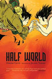 Cover art for HALF WORLD