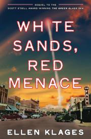 Book Cover for WHITE SANDS, RED MENACE
